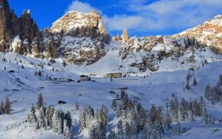 Термальные источники италии зимой