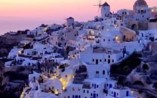 Греция в апреле куда поехать
