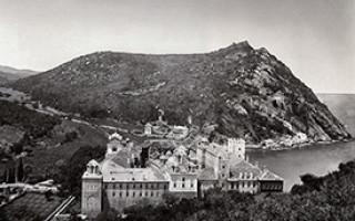 Гора афон история
