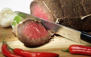 Итальянская вяленая говядина