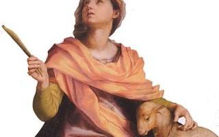 Изображение святой агнессы