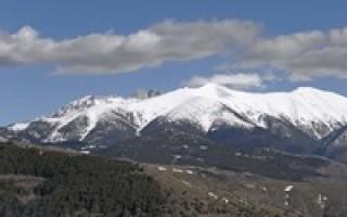Греция самая высокая гора и ее высота