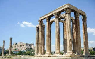 Храм зевса в олимпии греция