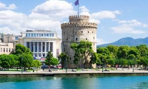 Белая башня Санторинии