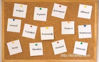 Древнегреческие имена мужские и их значение