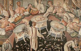 Рецепты древнего рима