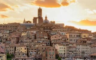 Сиенна город в италии