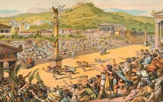 Как проводились олимпийские игры в древней греции