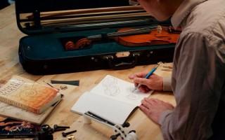 Скрипки страдивари чертежи