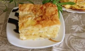 Тесто фило с сыром рецепт