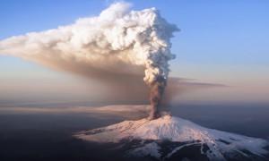 Материк где находится вулкан этна