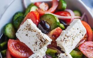 Салат греческий состав продуктов