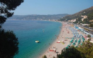 Лигурия италия пляжи