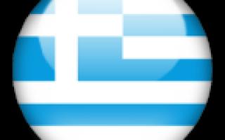 Состав территории греции