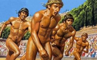 Фото олимпийских игр в древней греции