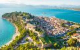 Пелопонесский полуостров достопримечательности