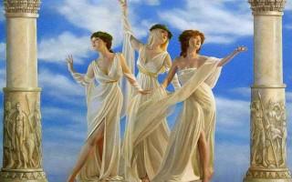 Греческая богиня земли