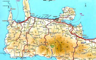 Крит ущелье самарья