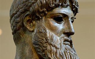 Зевс греческий бог