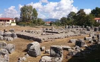 Храм афины алеи в тегее