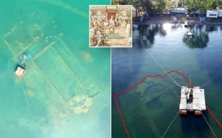 Древнегреческий храм Озеро