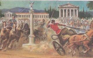 Проект олимпийские игры в древней греции