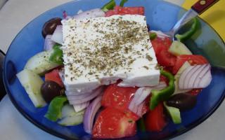 Продукты для греческого салата