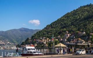 Озеро комо италия фото