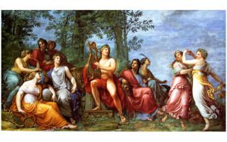 Древнегреческие музы имена и значения