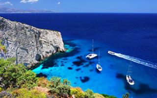 Самый южный остров греции