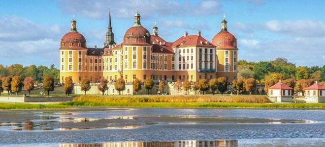 Замок Морицбург, «охотничий домик» саксонских князей