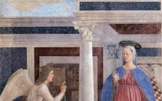 Пьеро делла франческа благовещение