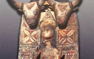 Богиня рея с острова кипр