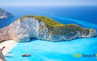 Пляж навайо греция