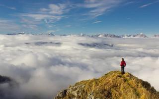 Самая высокая точка альп