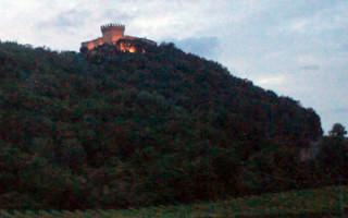 Замок градара италия