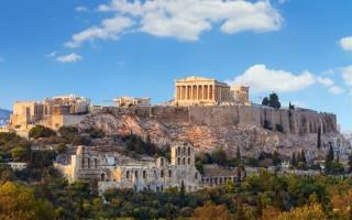 Афины в марте погода