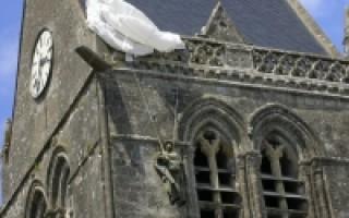 Памятники Нормандии