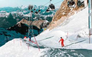 Беговые лыжи в италии