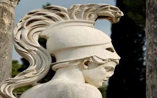 Древнегреческие боги войны