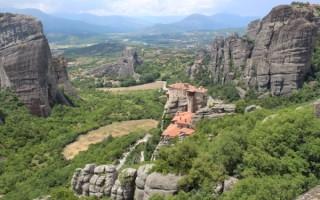 Греция метеоры достопримечательности