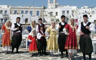 Население древней греции