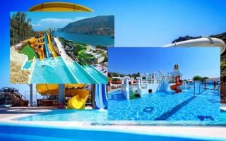 Отели в греции с аквапарком 5 звезд