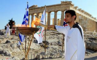 Олимпиада в древней греции