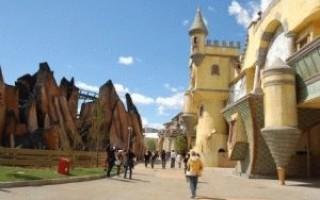 Парк развлечений в риме