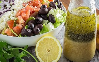 Соус для греческого салата с бальзамическим уксусом