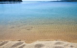 Ситония лучшие пляжи