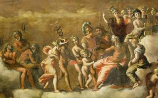 Символы богов древней греции