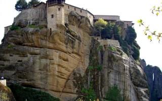 Монастырская гора в греции