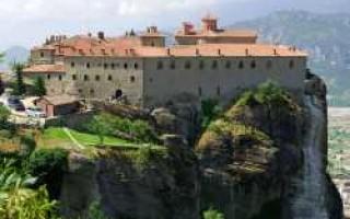 Монастырь святого стефана монастыри метеоры